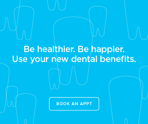 Be Heathier, Be Happier. Use your new dental benefits. - Eastlake Modern Dentistry